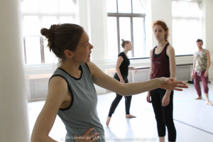 Tiffany Mills dance Workshop at Tisch, NYU, 2015